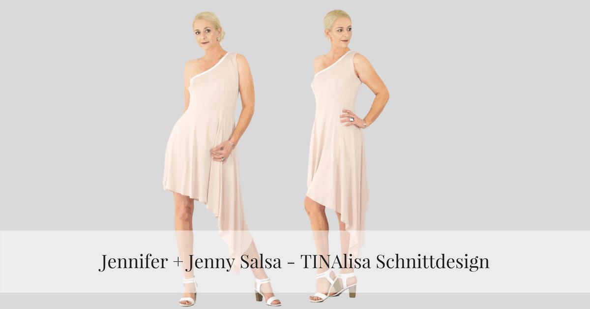 Jenny Salsa Kleid Ebook Größe 48 - 56 - TINAlisa