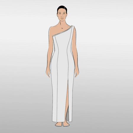 8568b5709d0501 Jennifer Jazz Kleid Shirt Ebook Größe 34 - 48 - TINAlisa