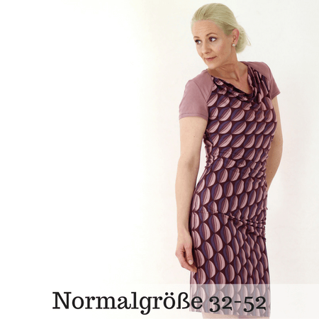 Grace Kleid Normalgröße Ebook Größe 32 - 52 - TINAlisa