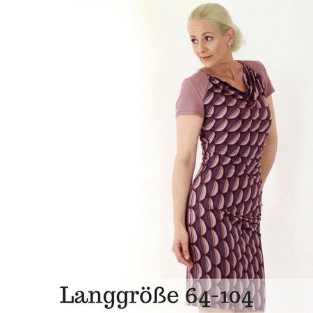 Grace Kleid Langgröße Ebook Größe 64 - 104 - TINAlisa