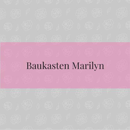 Baukasten Marilyn